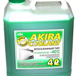 Akira Coolant -40 TYPE Антифриз зеленый всесезонный готовый 4л арт. 54-028
