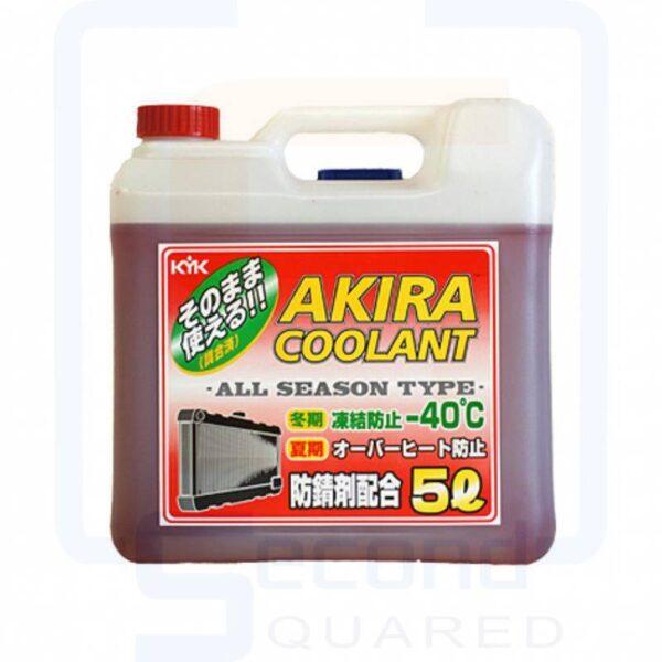 Akira Coolant -50 Антифриз красный всесезонный готовый 5л арт. 55-007