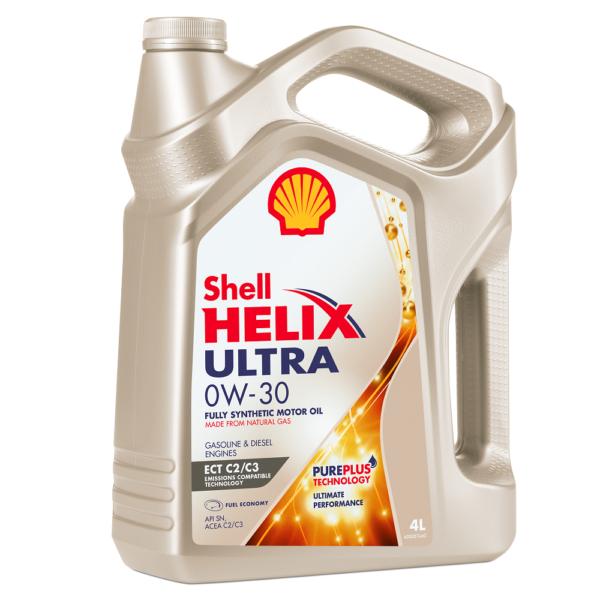 Shell Ultra ECT 0w30 синт. 4л арт. 550046375