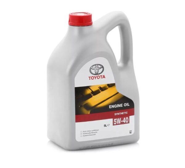 Toyota Engine Oil SL5w40 (088080375) 5л (3) арт. 08880-80375