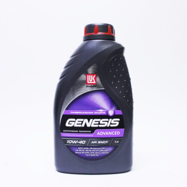 Лукойл Genesis Advansed п/синт 10w40 1л арт. 1632649
