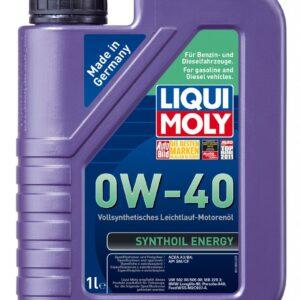 Масло LiquiMoly SM 0W40 Synthoil Enerqy синтеттическое (1л.) 1922 (6шт/кор) арт. 1922 - br-nkz
