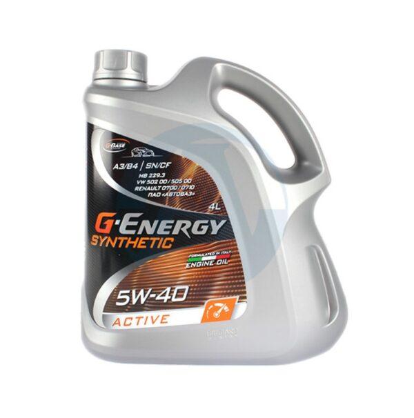G-Energy Synthetic Active 5W40 синт. 4л (4) арт. 253142410