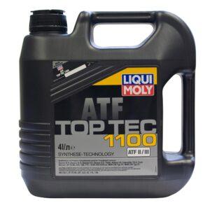 Масло лучшее LiquiMoly Top Tec ATF1100 HC-синтетическое трансмис. д/АКПП (4л) 7627 (4шт/кор) арт. 7627