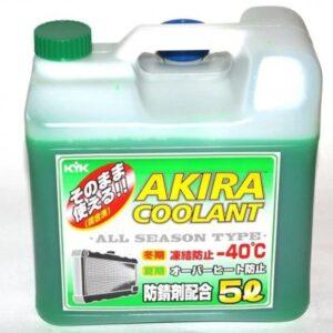 Akira Coolant -40 Антифриз зеленый всесезонный готовый 5л арт. 55-006