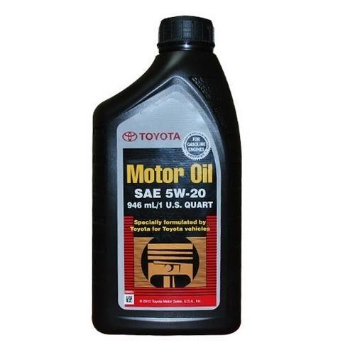 TOYOTA SAE 5w20 API SN 0.946л (моторное масло для бенз. двигателей) арт. 00279-1QT20-01