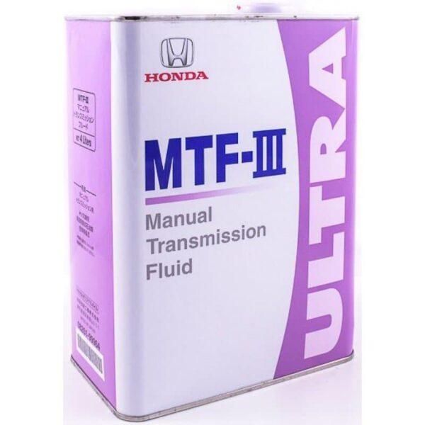 Honda MTF-III (08261-99964) Масло трансм. 4л арт. 08261-99964