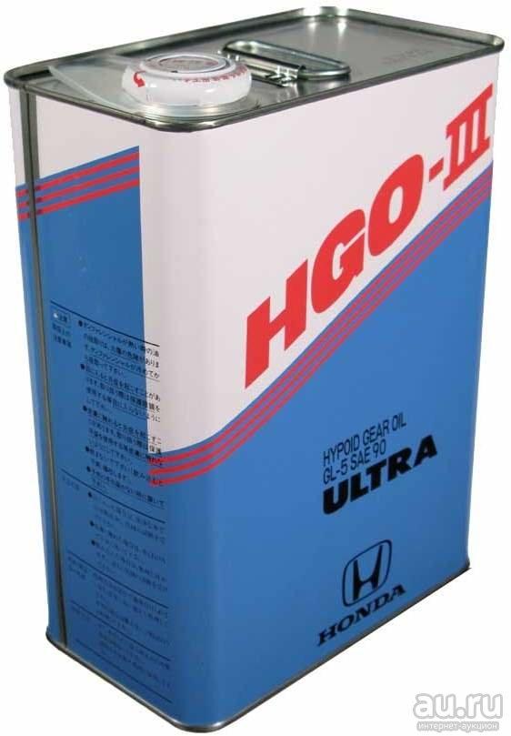 Honda HGO-III (08291-99914) Масло трансм. 4л арт. 08291-99914