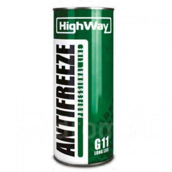 Антифриз HighWay ANTIFREEZE-40 LONG LIFE G11 зеленый 1кг (12шт/уп) арт. 10001