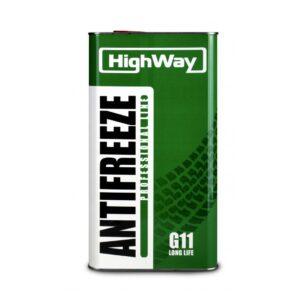 Антифриз HighWay ANTIFREEZE-40 LONG LIFE G11 зеленый 5кг (4шт/уп) арт. 10002