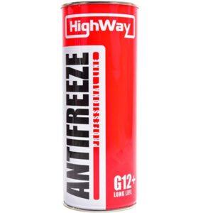 Антифриз HighWay ANTIFREEZE-40 LONG LIFE G12+ красный 1кг (12шт/уп) арт. 10003