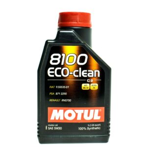 Motul Авто 8100 Eco-clean C2 5W30 1 л. (12) - масло моторное, шт арт. 101542