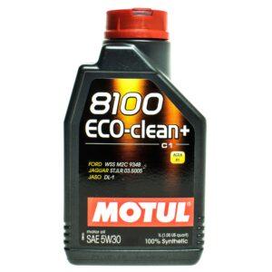 Motul Авто 8100 Eco-clean+ C1 5W30 1 л. (12) - масло моторное, шт арт. 101580