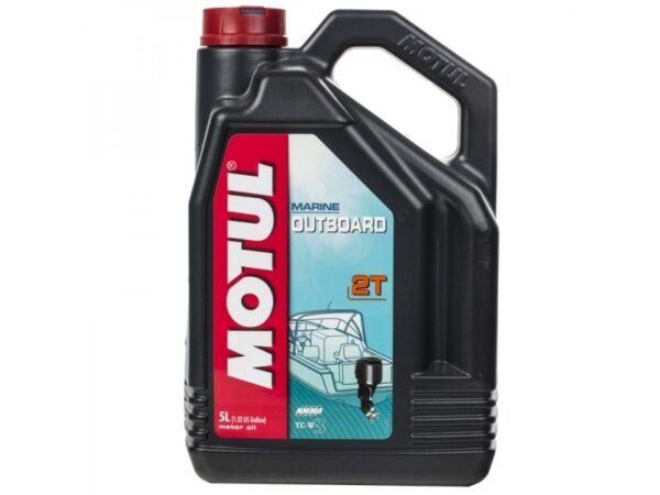 Motul Вода Outboard 2T 5 л. (4) - масло моторное, шт арт. 101734