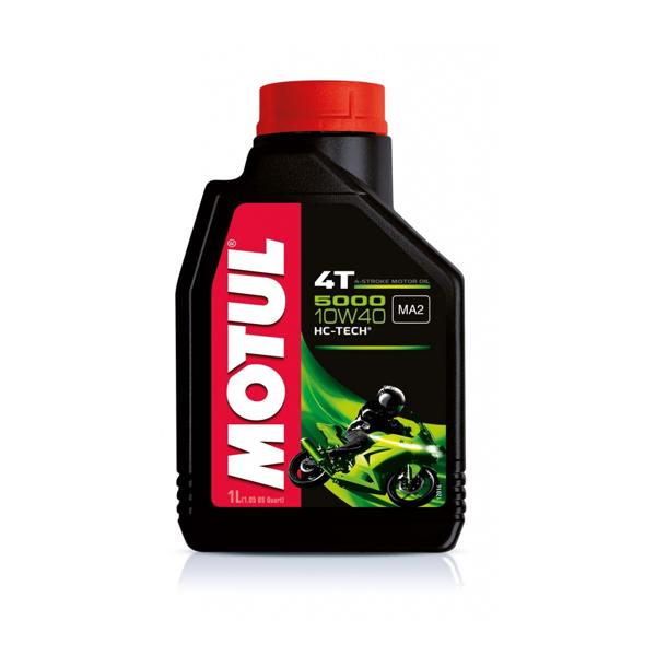 Motul Мото 5000 HC-Tech 4T 10W40 1 л. (12) - масло моторное, шт арт. 104054