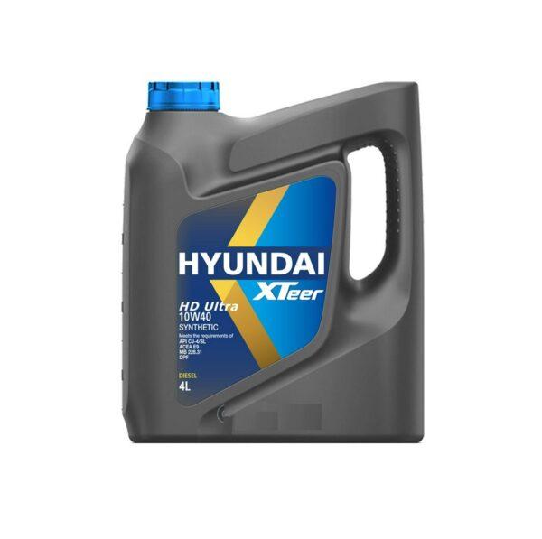 Масло моторное HYUNDAI XTeer heavy Duty Ultra CJ-4 10W40 синт. 4л. арт. 1041006
