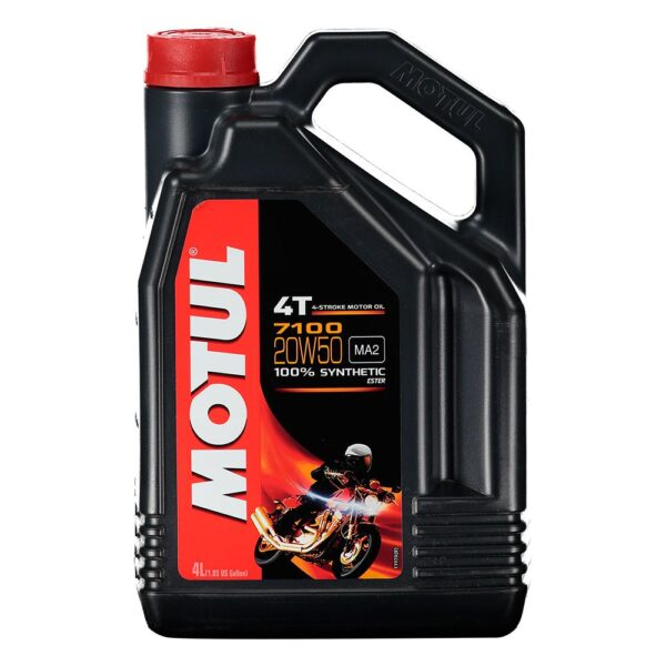 Motul Мото 7100 4T 20W50 4 л. (4) - масло моторное, шт арт. 104104