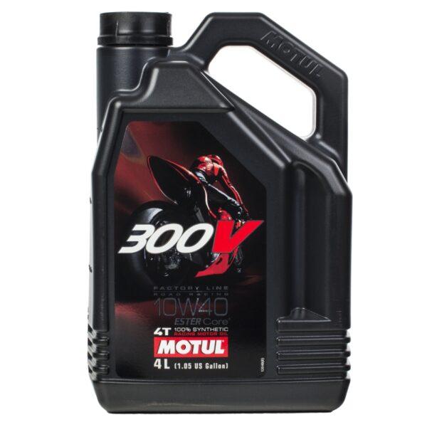 Motul Мото 300V 4T FL Road Racing 10W40 4 л. (4) - масло моторное, шт арт. 104121