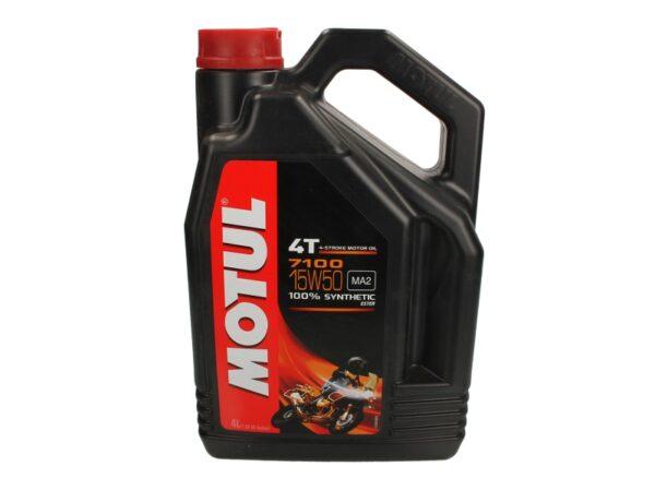 Motul Мото 7100 4T 15W50 4 л. (4) - масло моторное, шт арт. 104299