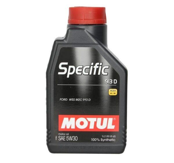 Motul Авто Specific Ford 913D 5W30 1 л. (12) - масло моторное, шт арт. 104559