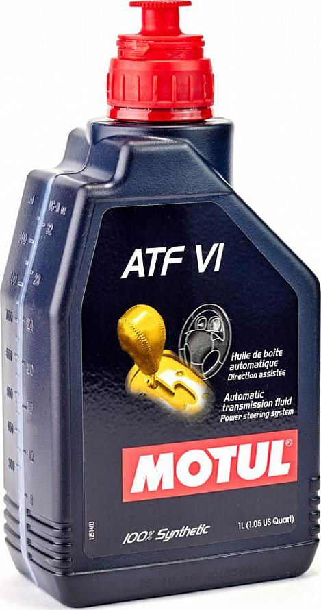 Motul Авто Multi ATF VI 1 л. (12) - масло трансмиссионное, шт арт. 105774