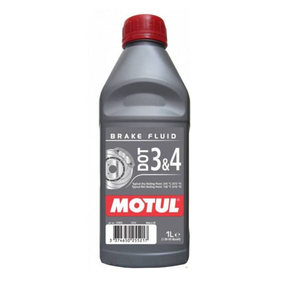 Motul BRAKE FLUID DOT 3&4 BF Тормозная жидкость 1 л арт. 105835