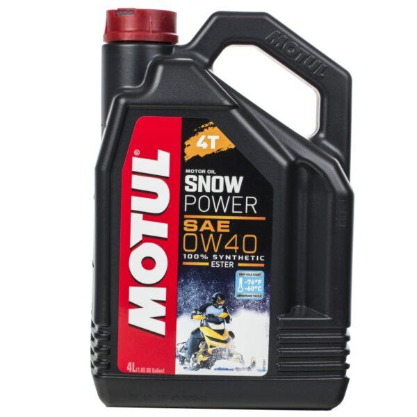 Motul Снег Snowpower 4T 0W40 4 л. (4) - масло моторное, шт арт. 105892