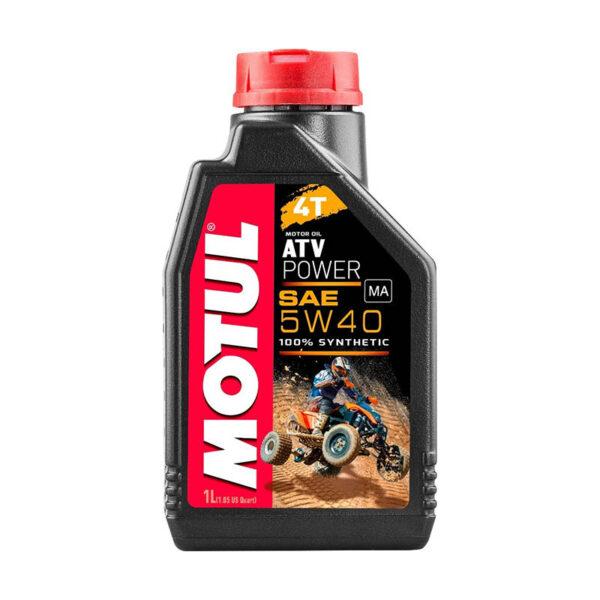 Motul Мото ATV Power 4T 5W40 1 л. (12) - масло моторное, шт арт. 105897