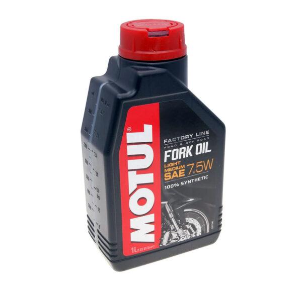 Motul Мото Fork Oil FL Light/med 7.5W 1 л. (6) - масло вилочное, шт арт. 105926