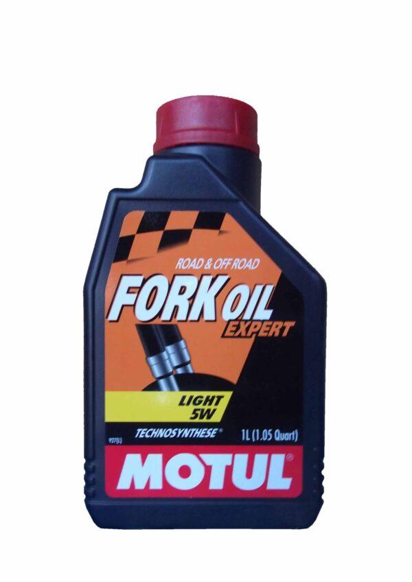 Motul Мото Fork Oil Expert Light 5W 1 л. (6) - масло вилочное, шт арт. 105929