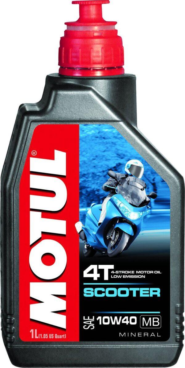 Motul Мото Scooter 4T 10W40 MB 1 л. (12) - масло моторное, шт арт. 105937