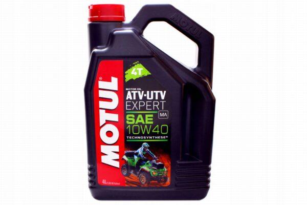 Motul Мото ATV UTV Expert 4T 10W40 4 л. (4) - масло моторное, шт арт. 105939