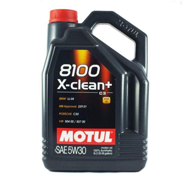 Motul Авто 8100 X-clean+ 5W30 5 л. (4) - масло моторное, шт арт. 106377
