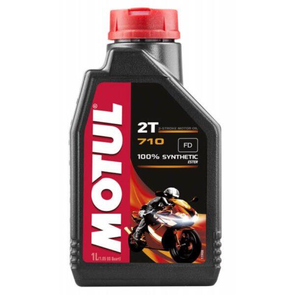 Motul Мото 710 2T 1 л. (12) - масло моторное, шт арт. 106607