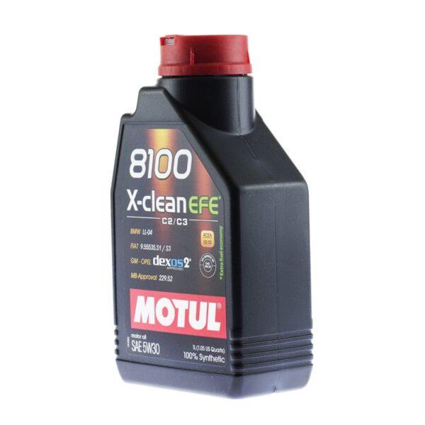 Motul Авто 8100 X-clean EFE 5W30 1 л. (12) - масло моторное, шт арт. 107210