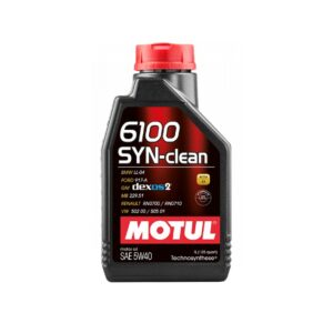 Motul Авто 6100 SYN-CLEAN 5W40 1 л. (12) - масло моторное, шт арт. 107941