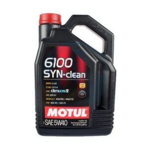 Motul Авто 6100 SYN-CLEAN 5W40 4 л. (4) - масло моторное, шт арт. 107942