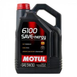 Motul Авто 6100 SAVE-NERGY 5W30 5 л. (4) - масло моторное, шт арт. 107953