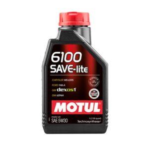 Motul Авто 6100 SAVE-LITE 5W30 1 л. (12) - масло моторное, шт арт. 107956
