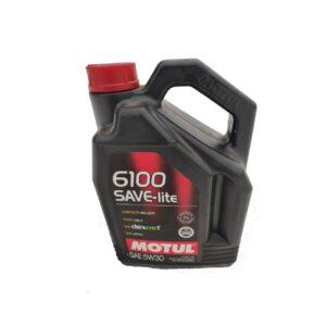 Motul Авто 6100 SAVE-LITE 5W30 4 л. (4) - масло моторное, шт арт. 107957
