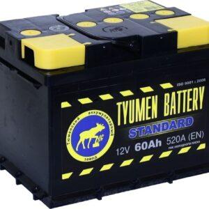 Аккумулятор 60А/ч о/п ТЮМЕНЬ АПЗ 60 арт. 1251