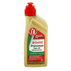 CASTROL ATF Dex III Multivehicle Transmax Жидкость АКПП 1л арт. 15003D