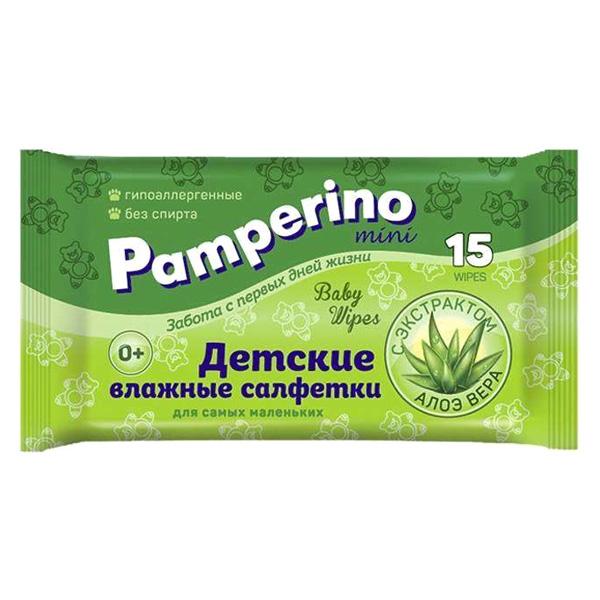 Салфетки Pamperino №15 влажные детские 15300 (100шт/кор) арт. 15300