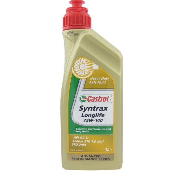 CASTROL Syntrax Longlife 75w140 Масло трансм. 1л арт. 1543AE