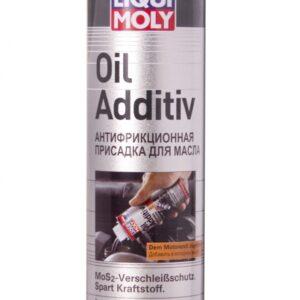 Антифрикц.присадка с дисуьфидом молибдена в мот.масло Oil Additiv (0.3л) Liqui Moly 1998 (12шт/кор) арт. 1998
