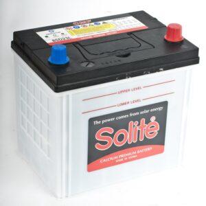 Аккумулятор 70А/ч п/п ASIA SOLITE CMF 85D23R бурт внизу арт. 26514