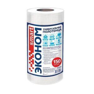 Эконом smart универсальное полотенце 20х23 спанлейс 40г/м2 №150 рулон 30129 (12шт/кор) арт. 30129