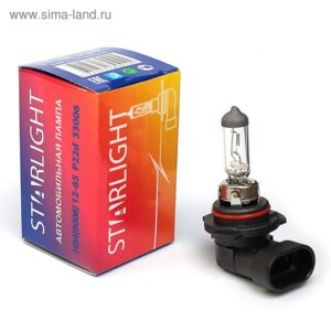 Автолампа НВ4(9006) 12-65 Р22d STAR LIGHT арт. 33006