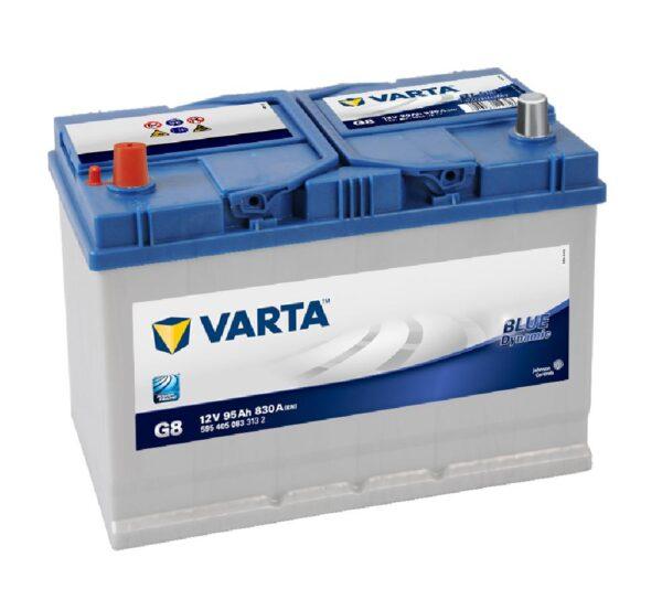 Аккумулятор 95А/ч п/п ASIA VARTA BlueDyn G8 (595 405) арт. 334