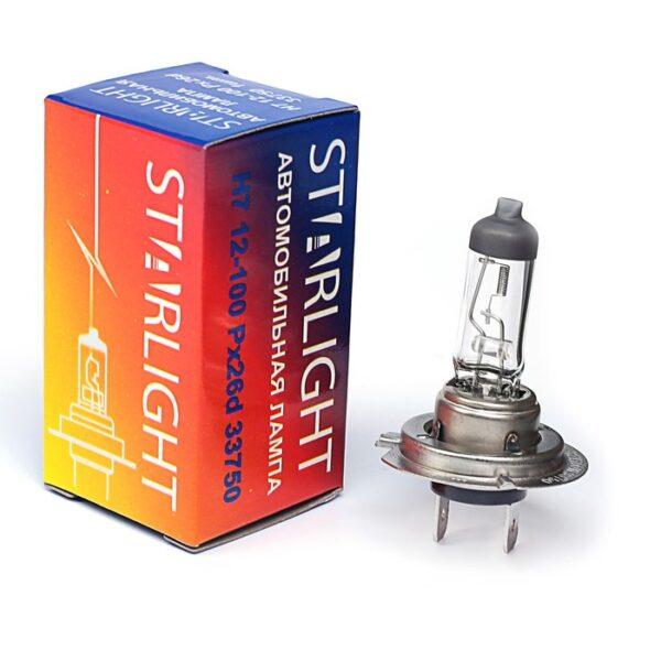 Автолампа H7 12-100 StarLight арт. 33750